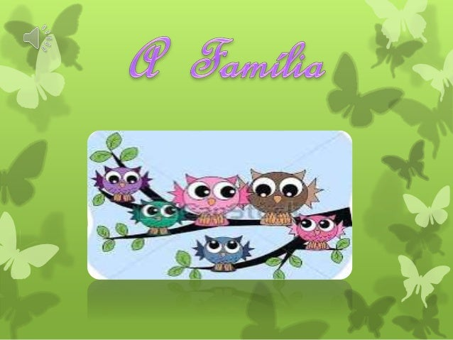 Definição de Família É um conjunto de pessoas que possuem grau de parentesco entre si e vivem na mesma casa formando um la...