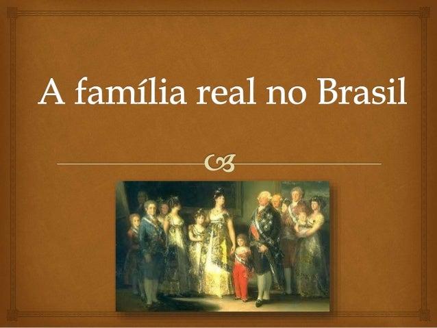 A vinda da família real portuguesa para o Brasil se deu no ano de 1808, após a invasão das tropas de Napoleão Bonaparte a ...