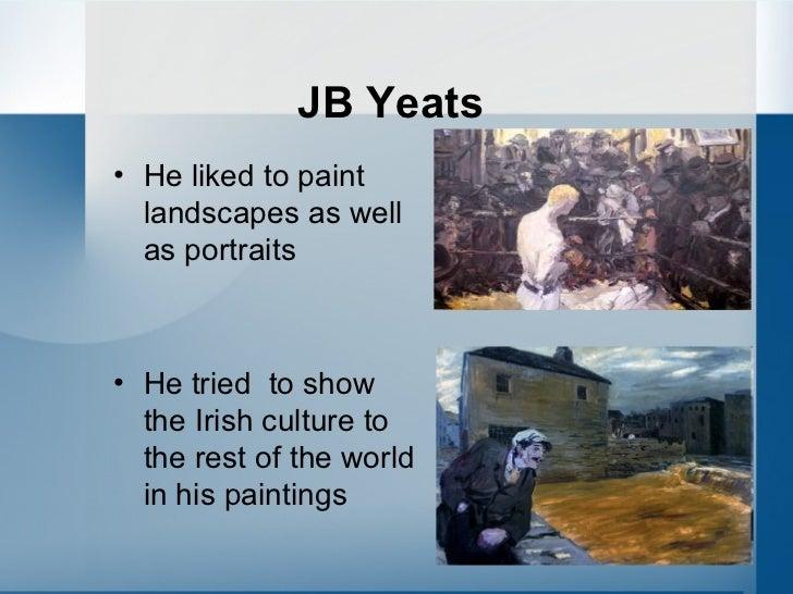 A famous Irish painter: JACK B YEATS Slide 3