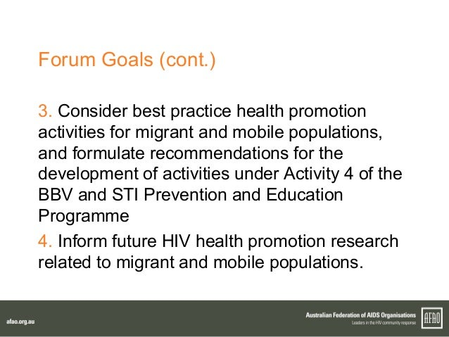 Health Promotion: An Effective Tool for Global Health