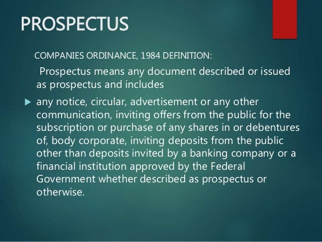 Prospectus of a company stopboris Images