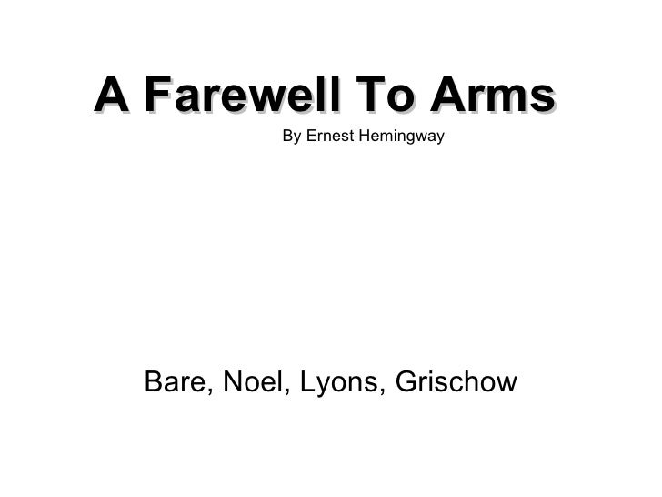 an analysis of style and tone in a farewell to arms by ernest hemingway Ernest hemingway ` a farewell to arms` ernest hemingway ` a farewell to arms` with its relatively simple plot, sparse language, and seemingly traditional background.