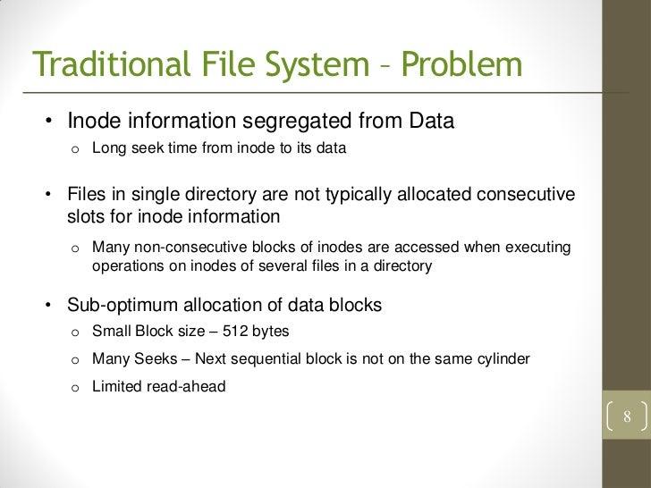 A fast file system for unix presentation by parang saraf (cs5204 VT)