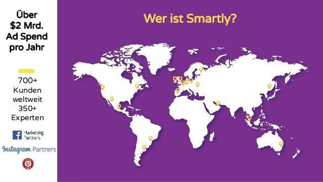 Wer ist Smartly?Über $2 Mrd. Ad Spend pro Jahr 700+ Kunden weltweit 350+ Experten