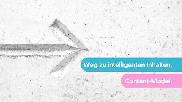 Weg zu intelligenten Inhalten. Content-Model.