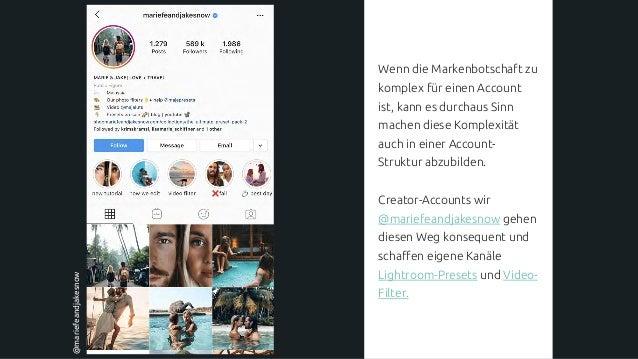 Ist Instagram vollwertiger digitaler Touchpoint meiner Marke? Diese Frage formuliert den Anspruch, den ein erfolgreicher I...
