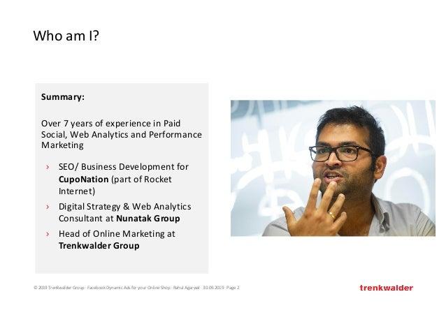 Facebook Dynamic Ads for your Online Shop #AFBMC Slide 2