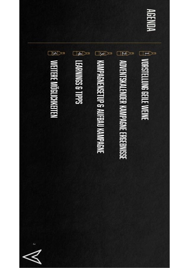 10 x ROAS mit Wein Adventskalender - Geile Weine #AFBMC Slide 2