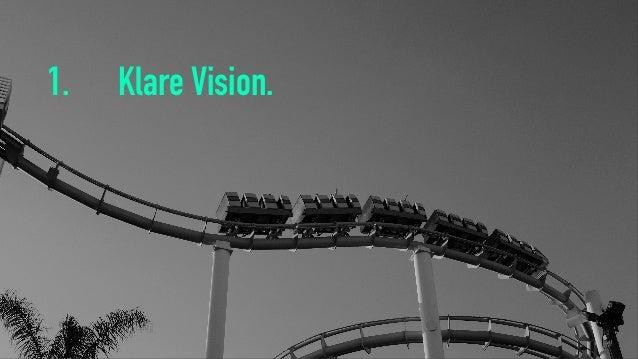 1. Klare Vision.