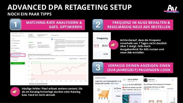 ADVANCED DPA RETAGETING SETUP NOCH EIN PAAR TIPPS MATCHING-RATE ANALYSIERN & GGFS. OPTIMIEREN FREQUENZ IM AUGE BEHALTEN & ...