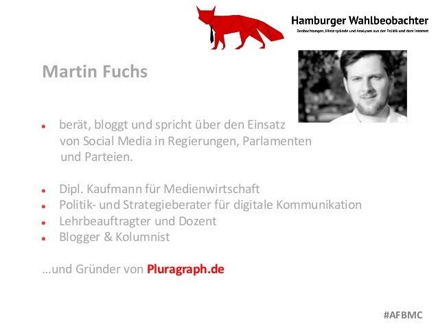 Martin Fuchs l berät, bloggt und spricht über den Einsatz von Social Media in Regierungen, Parlamenten und Parteien. l Dip...