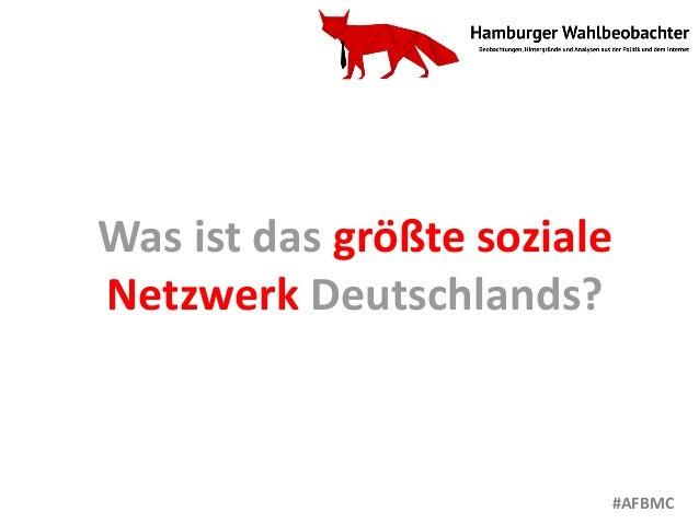Was ist das größte soziale Netzwerk Deutschlands? #AFBMC