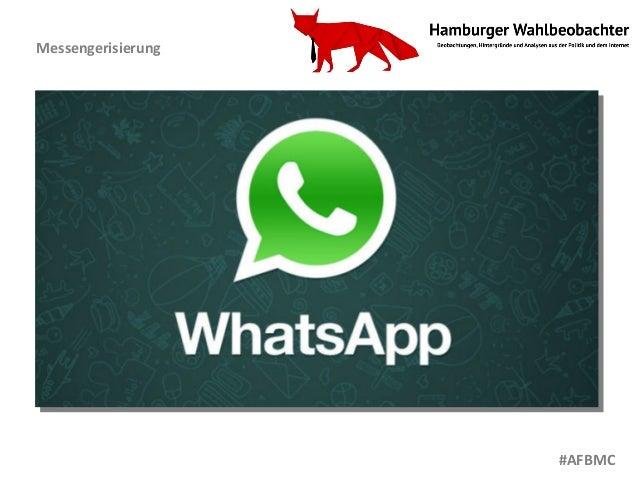 Messengerisierung #AFBMC