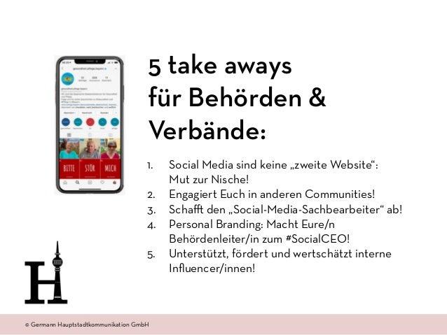 """© Amt 2.0 Akademie www.amtzweinull.com © Germann Hauptstadtkommunikation GmbH 1. Social Media sind keine """"zweite Website"""":..."""