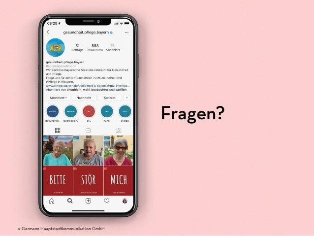 Fragen? © Germann Hauptstadtkommunikation GmbH