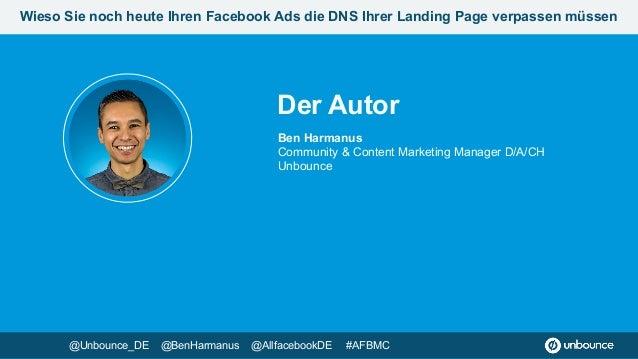 Wieso du noch heute deinen Facebook Ads die DNS deiner Landing Page verpassen musst #AFBMC Slide 2