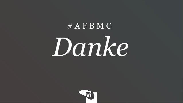 Die Gier nach schnellem Ruhm #AFBMC