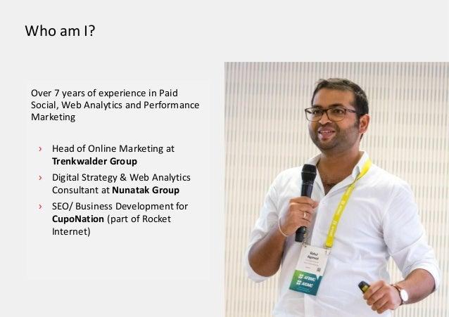 › Head of Online Marketing at Trenkwalder Group › Digital Strategy & Web Analytics Consultant at Nunatak Group › SEO/ Busi...