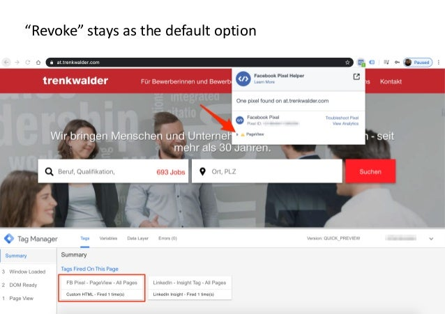 """AllFacebook Advance · Power FB Pixel with Google Tag Manager · Rahul Agarwal """"Revoke"""" stays as the default option"""