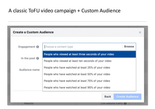 AllFacebook Advance · Power FB Pixel with Google Tag Manager · Rahul Agarwal A classic ToFU video campaign + Custom Audien...
