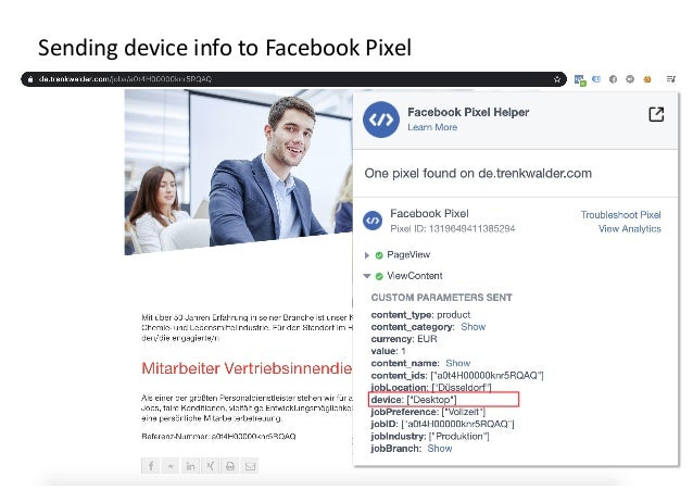 AllFacebook Advance · Power FB Pixel with Google Tag Manager · Rahul Agarwal Sending device info to Facebook Pixel