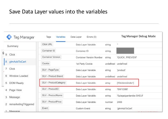 AllFacebook Advance · Power FB Pixel with Google Tag Manager · Rahul Agarwal Save Data Layer values into the variables Tag...