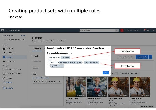 AllFacebook Advance · Power FB Pixel with Google Tag Manager · Rahul Agarwal Creating product sets with multiple rules Use...