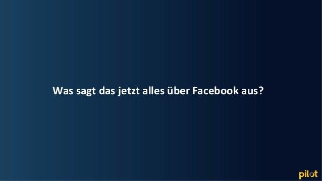 Hamburg Was sagt das jetzt alles über Facebook aus?