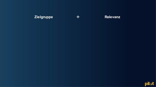 Hamburg Zielgruppe Relevanz+