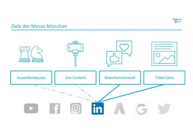 Ziele der Messe München Live Content Branchennetzwerk Ticket SalesAusstellerakquise