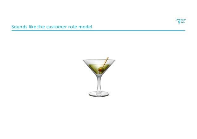 ! Sounds like the customer role model