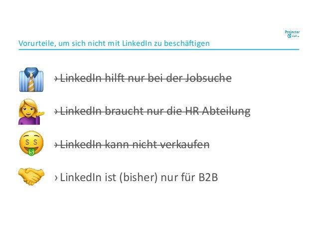 ›LinkedIn hil, nur bei der Jobsuche ›LinkedIn braucht nur die HR Abteilung ›LinkedIn kann nicht verkaufen ›LinkedIn ist (b...