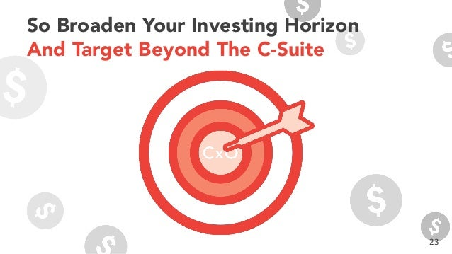 23 So Broaden Your Investing Horizon And Target Beyond The C-Suite