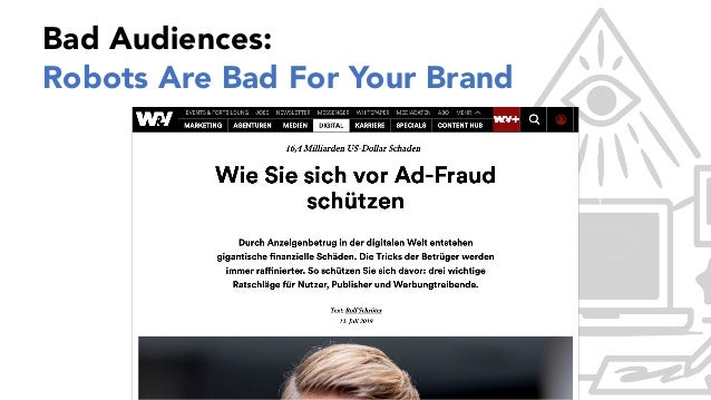 1 Bad Audiences: Robots Are Bad For Your Brand