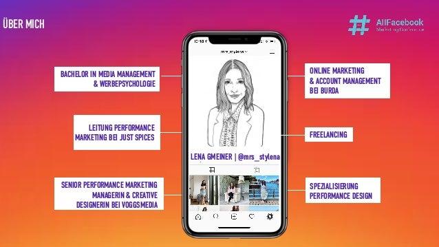 LENA GMEINER Instagram: mrs_stylena BACHELOR IN MEDIA MANAGEMENT & WERBEPSYCHOLOGIE LEITUNG PERFORMANCE MARKETING BEI JUST...