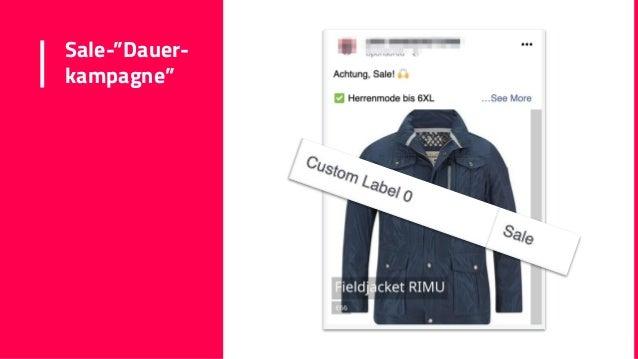 "Sale-""Dauer- kampagne"""