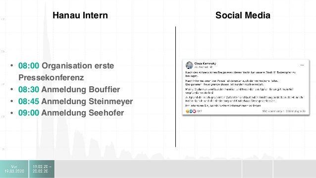 """Hanau Intern Social Media Es entsteht ein Leitmotiv für die Welt:  """"Die Opfer waren keine Fremden"""""""