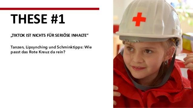 """Tanzen, Lipsynching und Schminktipps: Wie passt das Rote Kreuz da rein? THESE #1 """"TIKTOK IST NICHTS FÜR SERIÖSE INHALTE"""""""