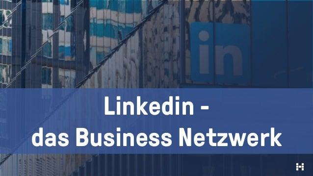 2 Linkedin - das Business Netzwerk