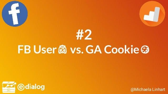 @Michaela Linhart #2 FB User👸 vs. GA Cookie🍪
