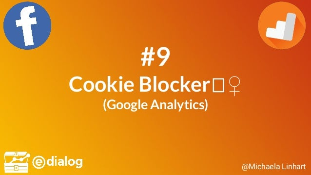 @Michaela Linhart #9 Cookie Blocker ♀ (Google Analytics)