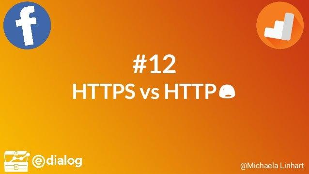 @Michaela Linhart #12 HTTPS vs HTTP😫