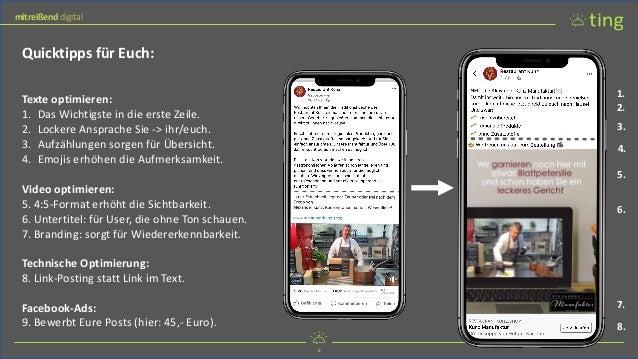 8 mitreißend digital 8 mitreißend digital Quicktipps für Euch: Texte optimieren: 1. Das Wichtigste in die erste Zeile. 2. ...