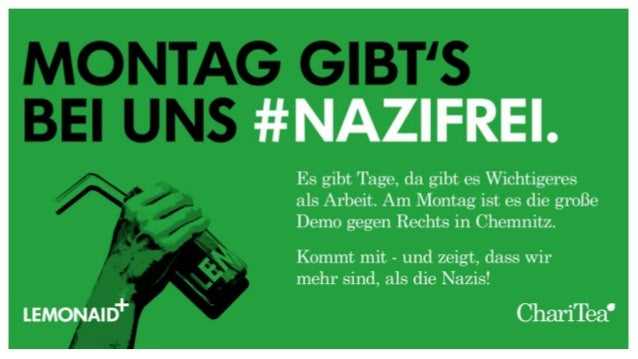 LEMONAID: It's all about Haltung, Digga! #AFBMC