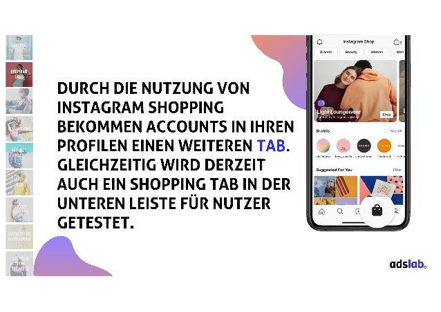 Shop, Shoppen, Instagram Shopping: Was ist State of The Art und was kommt noch? #AFBMC
