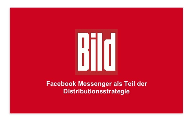 Facebook Messenger als Teil der Distributionsstrategie