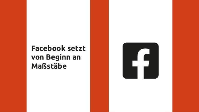 Facebook setzt von Beginn an Maßstäbe