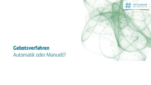 Gebotsverfahren Automatik oder Manuell?