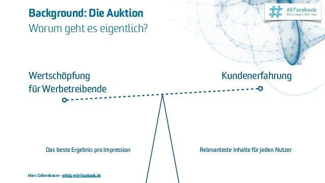 Marc Grönnebaum - erfolg-mit-facebook.de Background: Die Auktion Worum geht es eigentlich? Wertschöpfung für Werbetreibe...