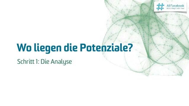 Wo liegen die Potenziale? Schritt 1: Die Analyse